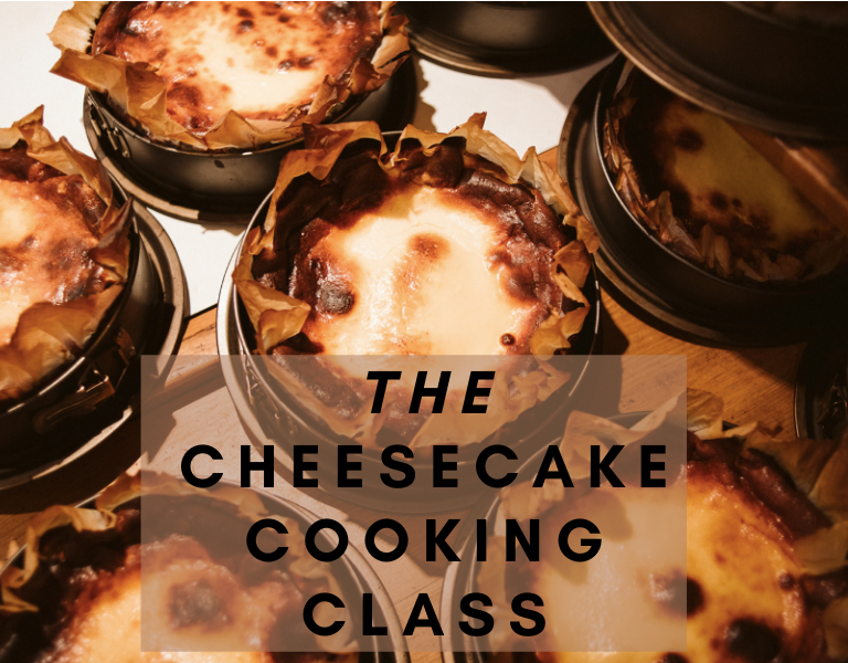 cheesecake cooking class
