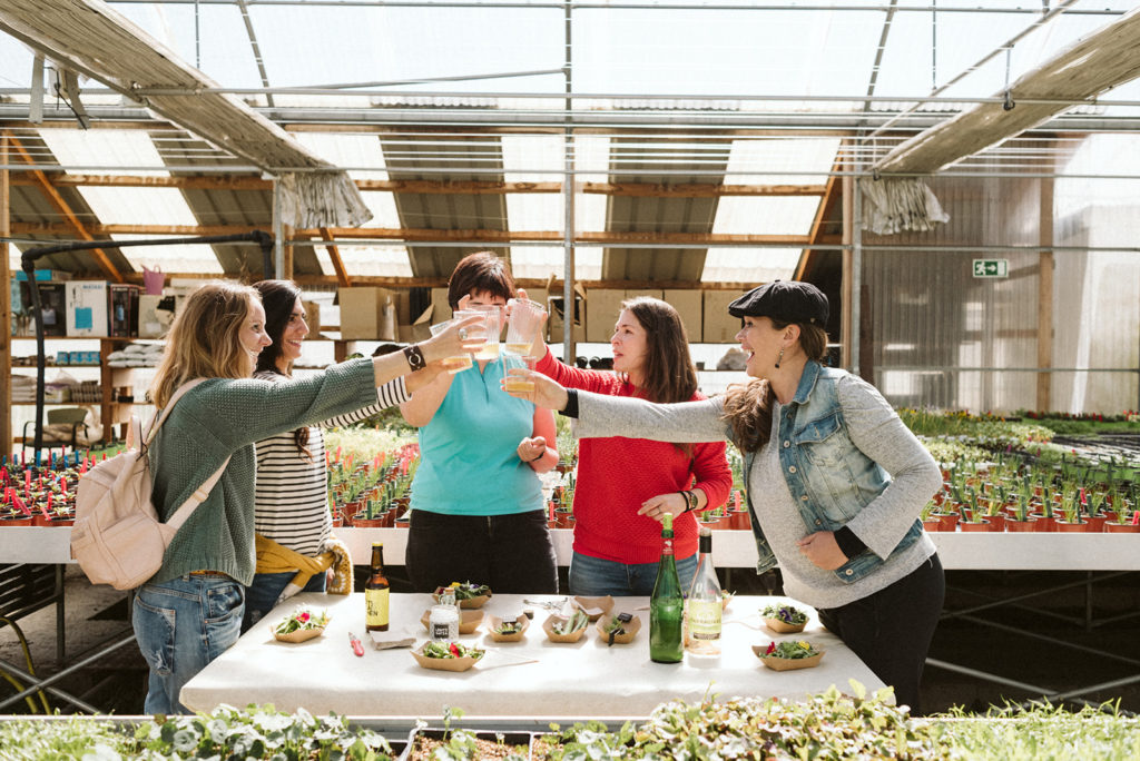Eco farm tour and tasting